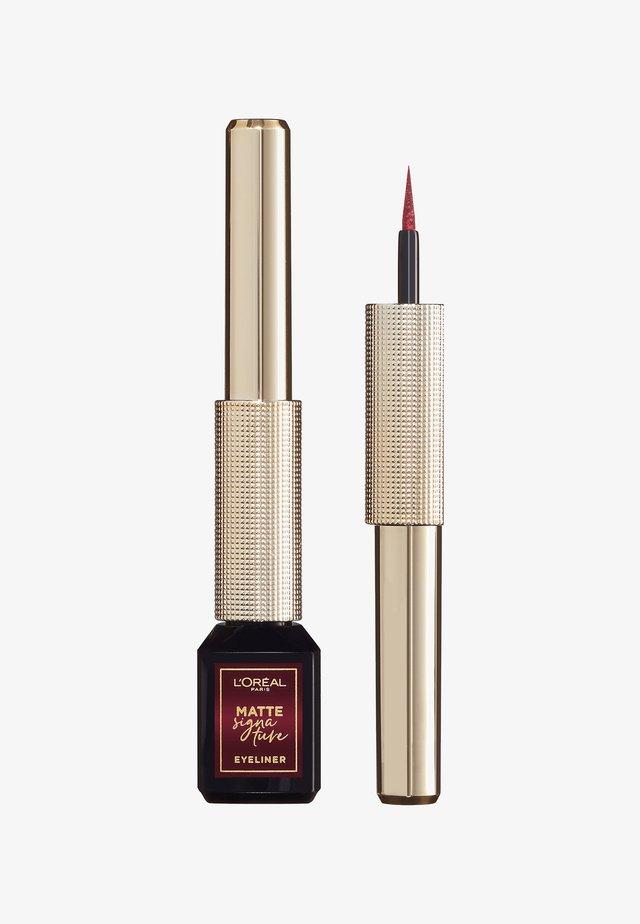 MATTE SIGNATURE EYELINER - Eyeliner - 05 burgundy