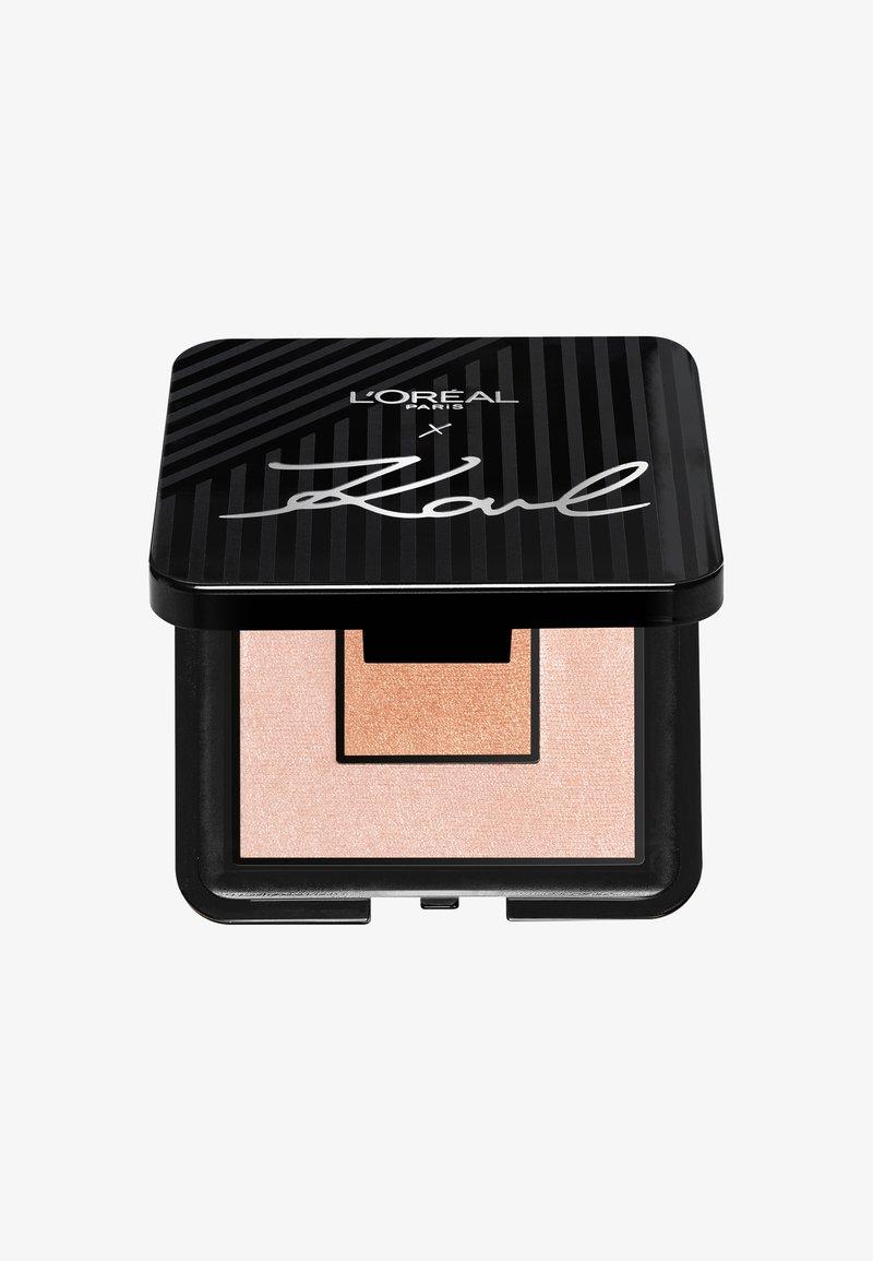 L'Oréal Paris - KARL LAGERFELD HIGHLIGHT PALETTE - Highlighter - -
