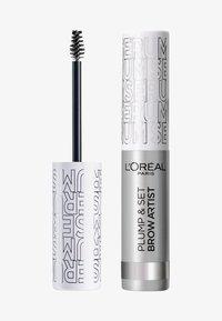 L'Oréal Paris - BROW ARTIST PLUMP & SET - Eyebrow gel - transparent - 0