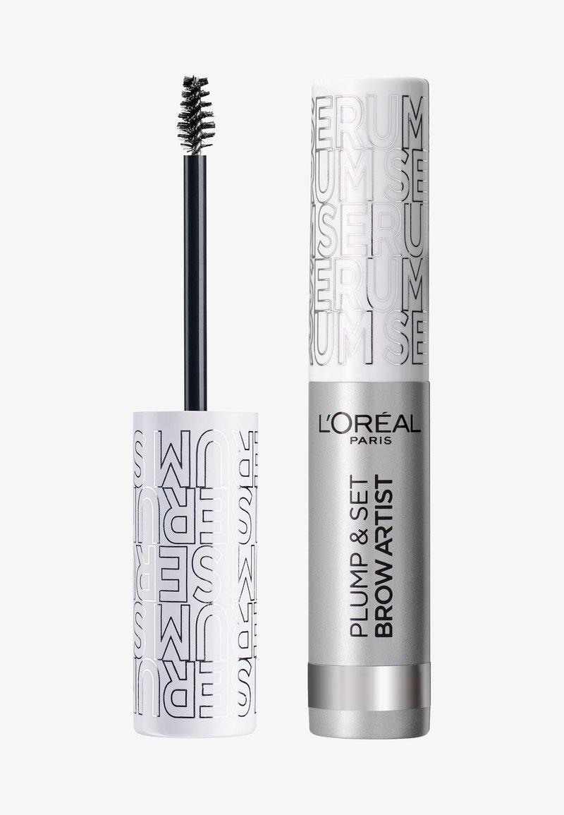 L'Oréal Paris - BROW ARTIST PLUMP & SET - Eyebrow gel - transparent