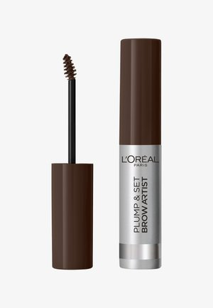 BROW ARTIST PLUMP & SET - Wenkbrauwgel - dark brunette