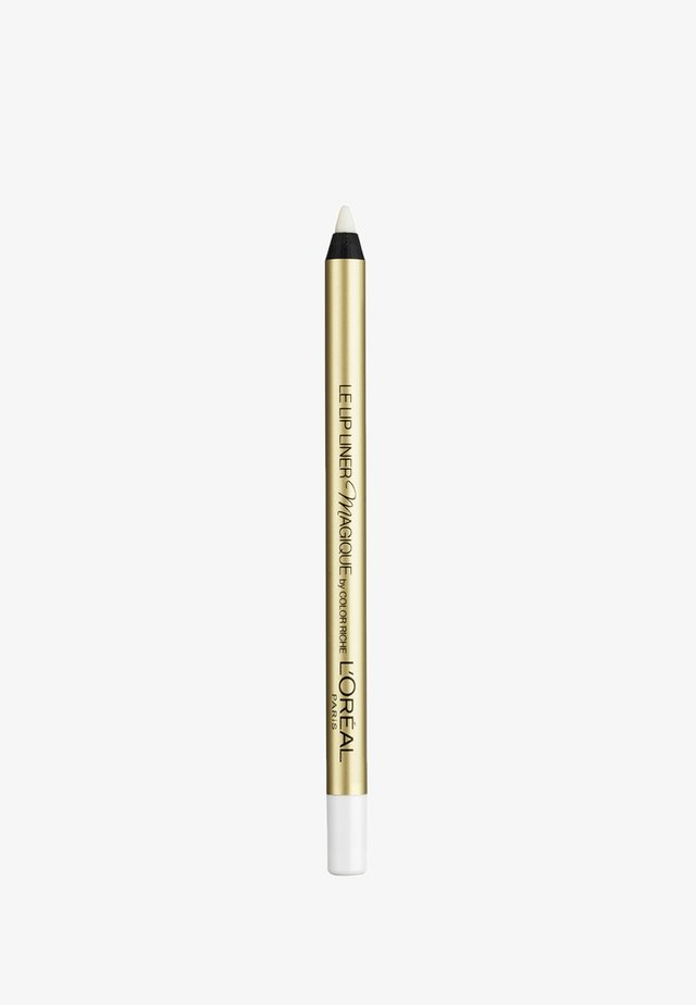 COLOR RICHE LE LIP LINER MAGIQUE TRANSPARENT - Läppenna - transparent
