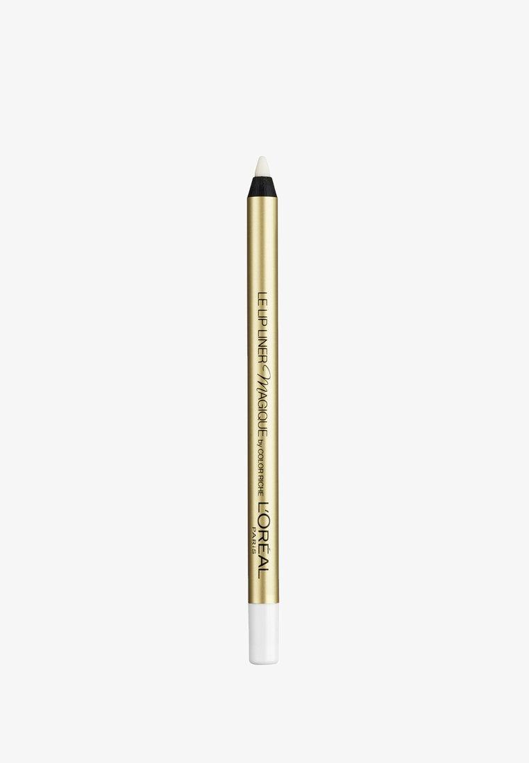 L'Oréal Paris - COLOR RICHE LE LIP LINER MAGIQUE TRANSPARENT - Läppenna - transparent