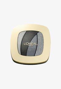 L'Oréal Paris - COLOR RICHE QUAD LES OMBRES - Paleta cieni - s11 fascinat silve - 0