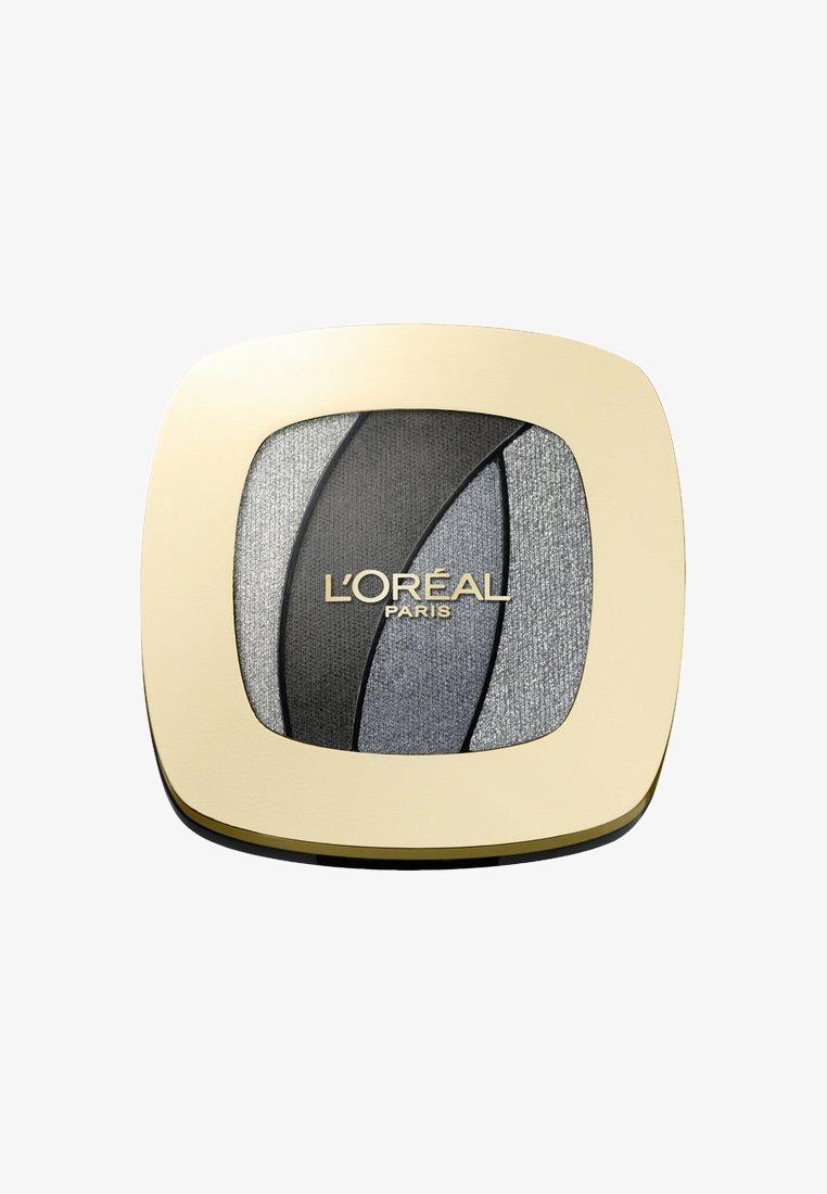 L'Oréal Paris - COLOR RICHE QUAD LES OMBRES - Palette fard à paupière - s11 fascinat silve