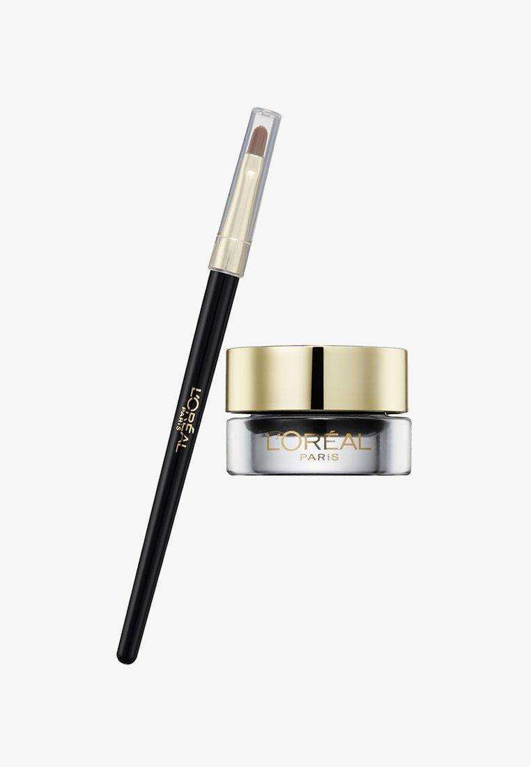 L'Oréal Paris - GEL LINER INTENZA BLACK - Eyeliner - pure black