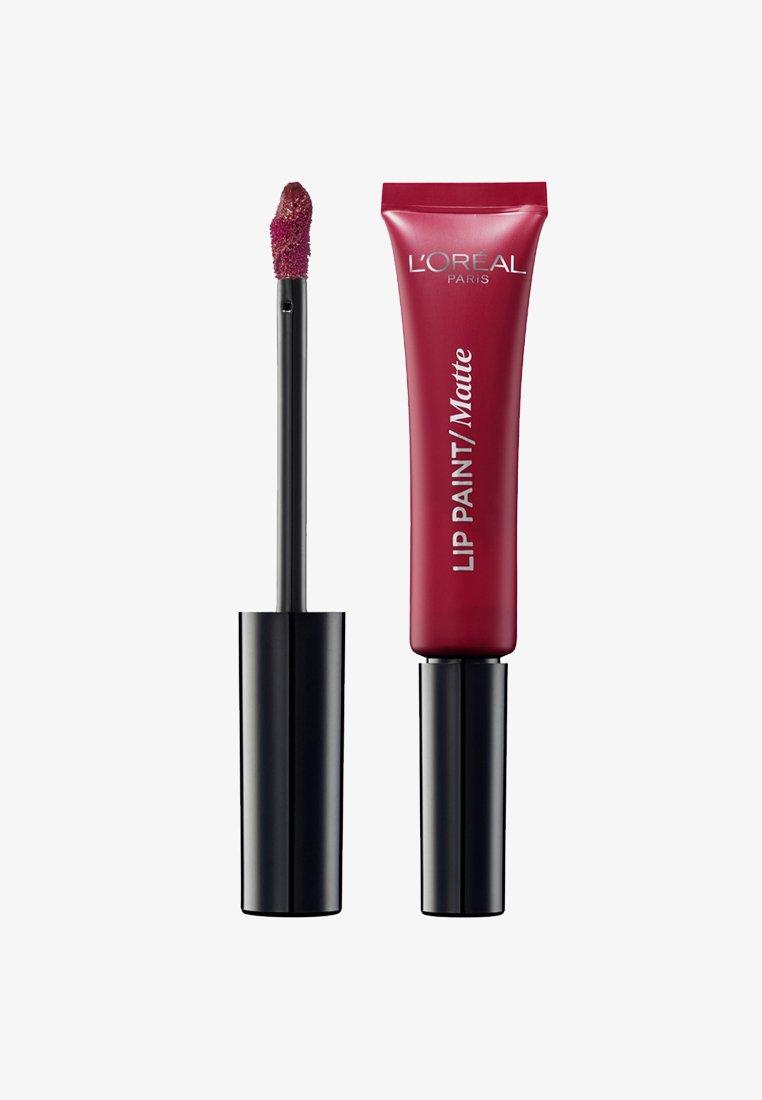 L'Oréal Paris - INFAILLIBLE MATTE LIP PAINT - Rossetto liquido - 205 apocalypse red