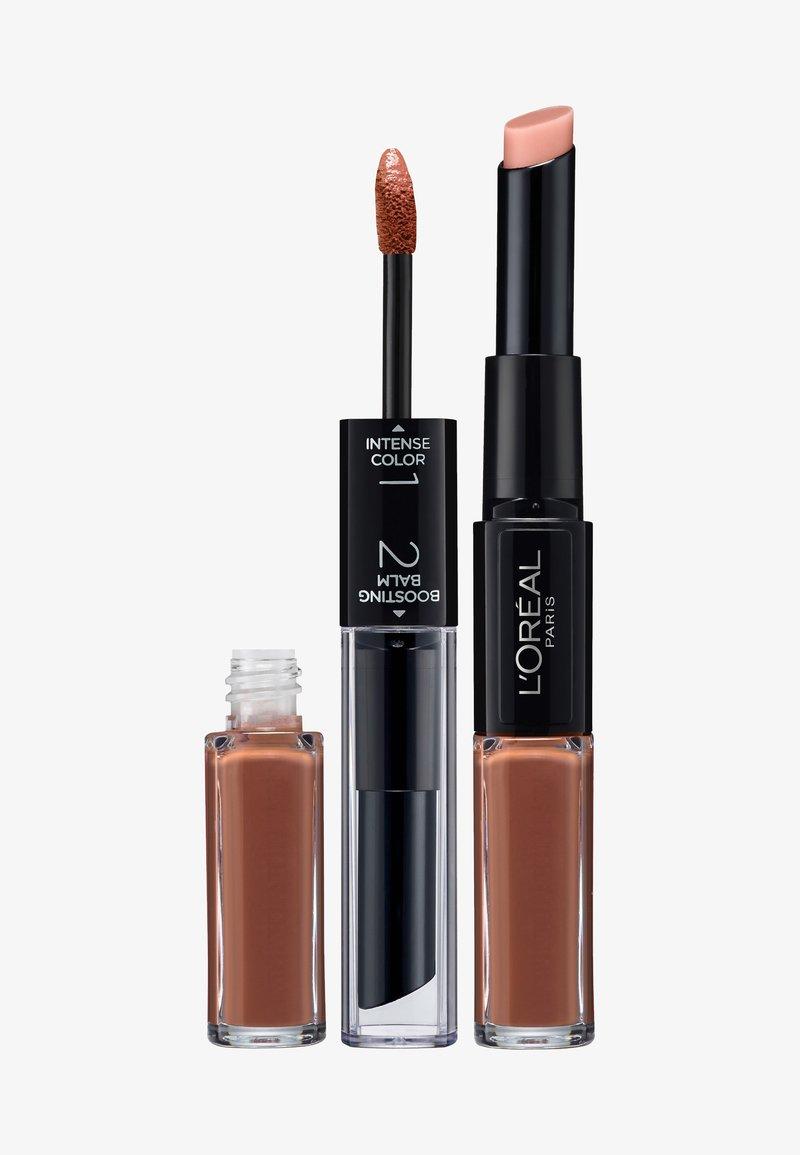 L'Oréal Paris - INFAILLIBLE X3 LIPSTICK - Lippenstift - 114 ever nude