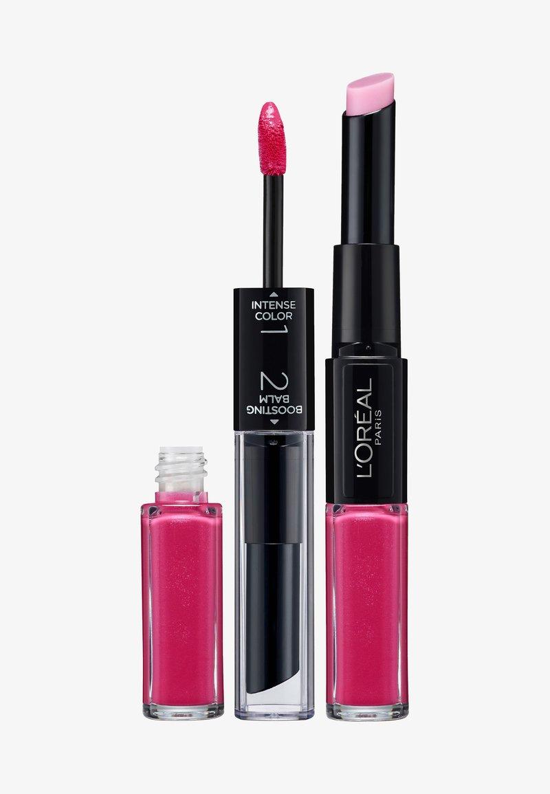 L'Oréal Paris - INFAILLIBLE X3 LIPSTICK - Lippenstift - 121 flawless fuschia