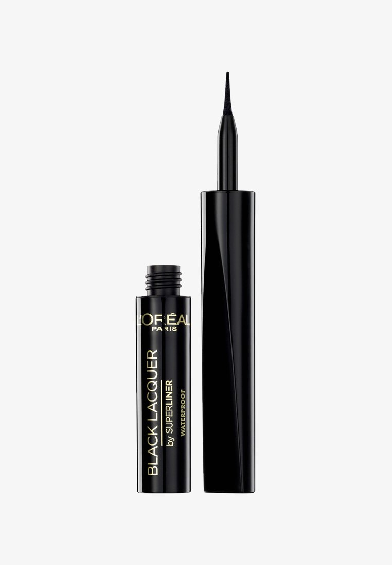 L'Oréal Paris - SUPERLINER LACQUER - Eyeliner - black lacquer