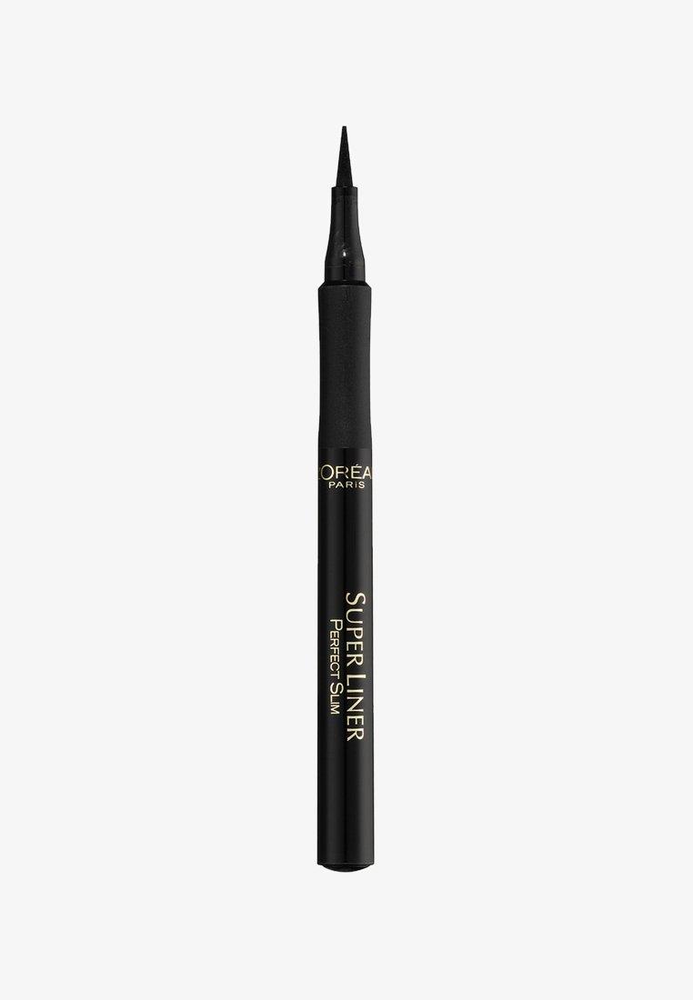 L'Oréal Paris - SUPERLINER PERFECT SLIM - Eyeliner - schwarz