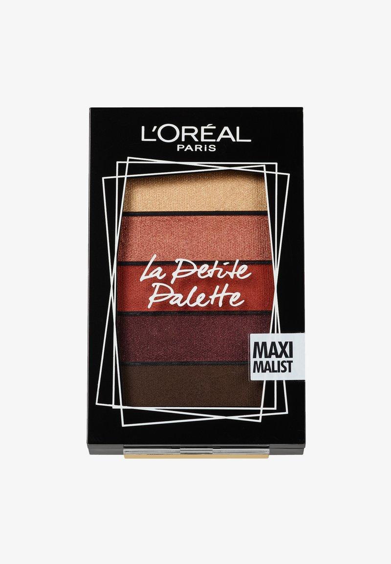 L'Oréal Paris - LA PETITE PALETTE - Eyeshadow palette - 1 maximalist
