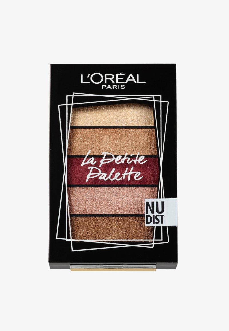 L'Oréal Paris - LA PETITE PALETTE - Øjenskyggepalette - 2 nudist