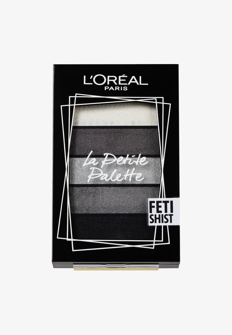 L'Oréal Paris - LA PETITE PALETTE - Øjenskyggepalette - 6 fetishist