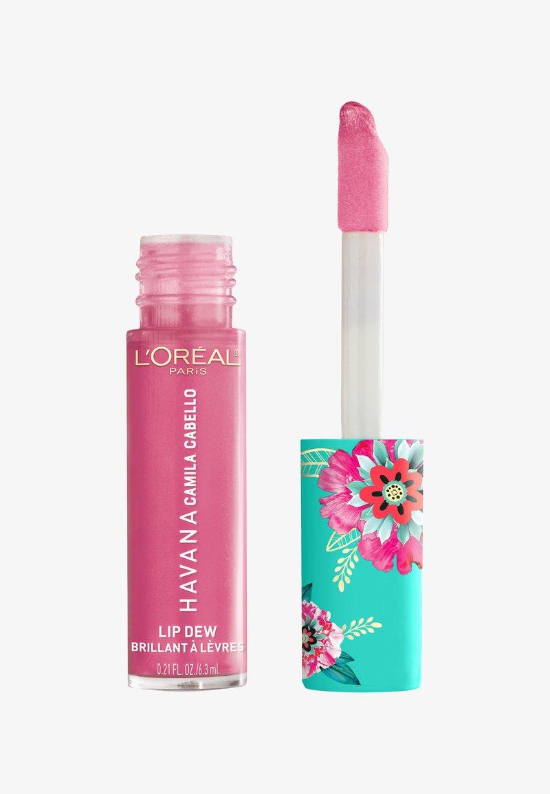 L'Oréal Paris - LIP DEW CAMILA - Liquid lipstick - 01 pink camila
