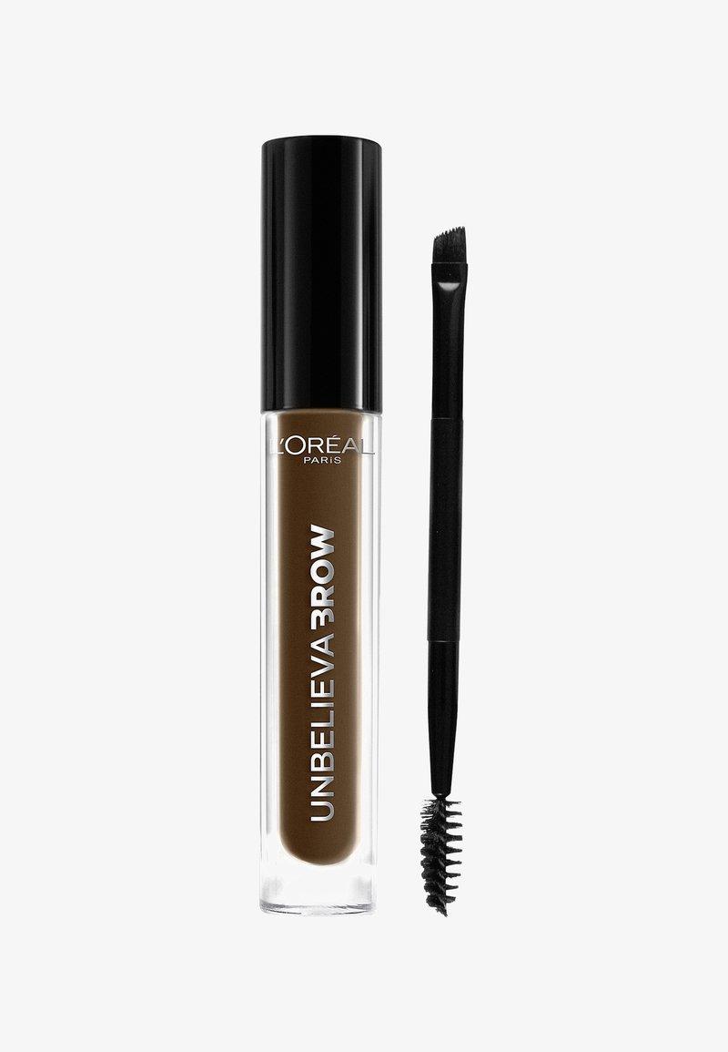 L'Oréal Paris - UNBELIEVABROW - Eyebrow gel - 108 dark brunette