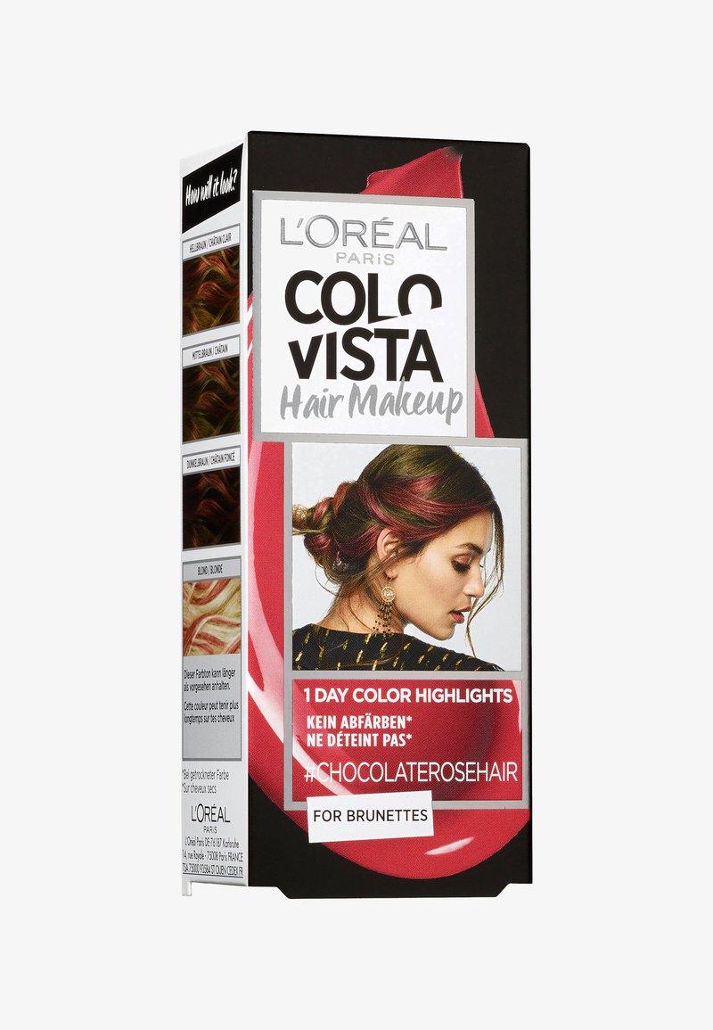 L'Oréal Paris Colovista - HAIR MAKEUP - Hair colour - 12 chocolaterosehair