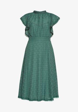 Korte jurk - turquoise blue
