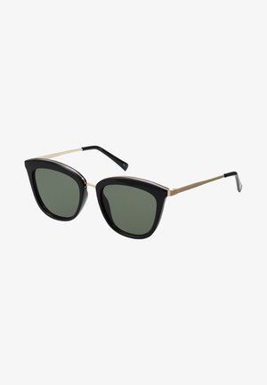 CALIENTE  - Sunglasses - black/gold-coloured