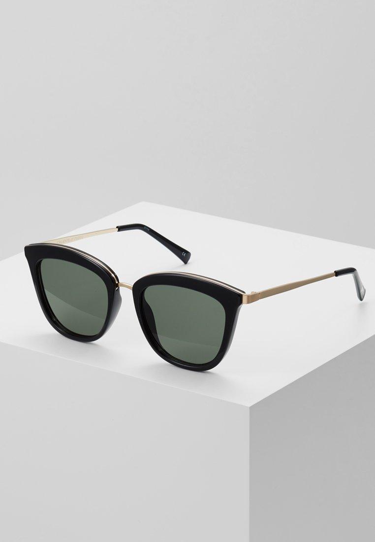 Le Specs - CALIENTE  - Sluneční brýle - black/gold-coloured