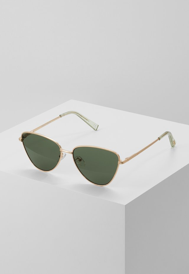 ECHO - Sunglasses - matte gold-coloured/ khaki