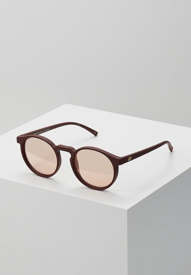 Le Specs - TEEN SPIRIT DEUX - Sunglasses - matte shiraz