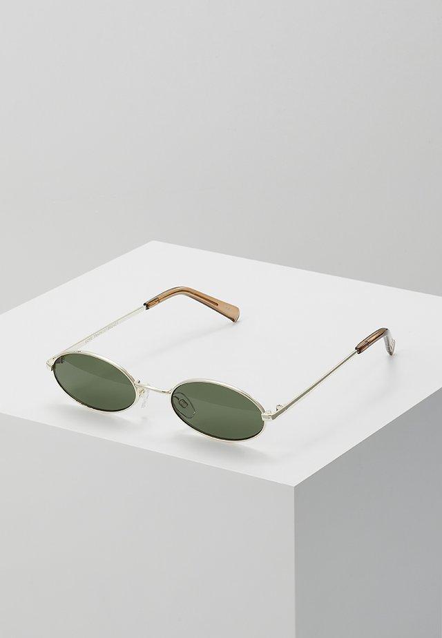 LOVE TRAIN - Sonnenbrille - bright gold
