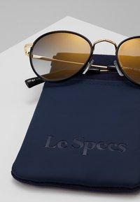 Le Specs - ZEPHYR DELUXE - Sonnenbrille - black - 3