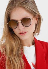 Le Specs - ZEPHYR DELUXE - Sonnenbrille - black - 1