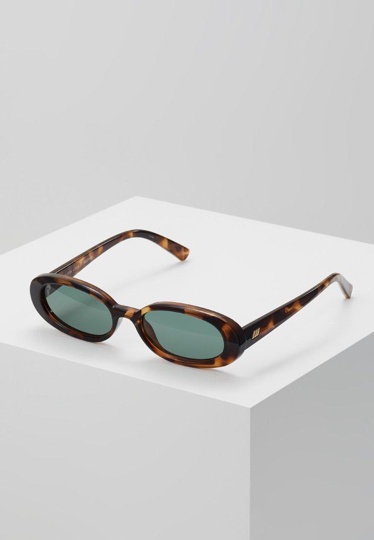 Le Specs - OUTTA LOVE - Lunettes de soleil - brown/green