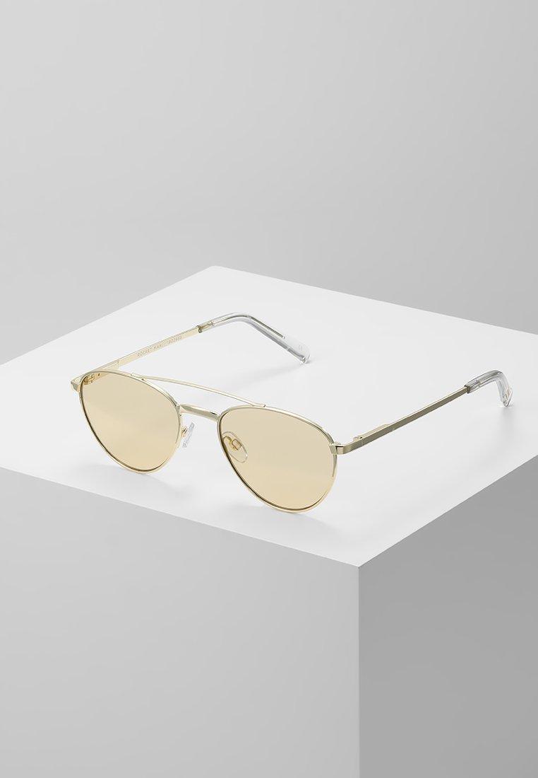 Le Specs - ROCKET MAN EDITION - Lunettes de soleil - sand tint/gold-coloured flash