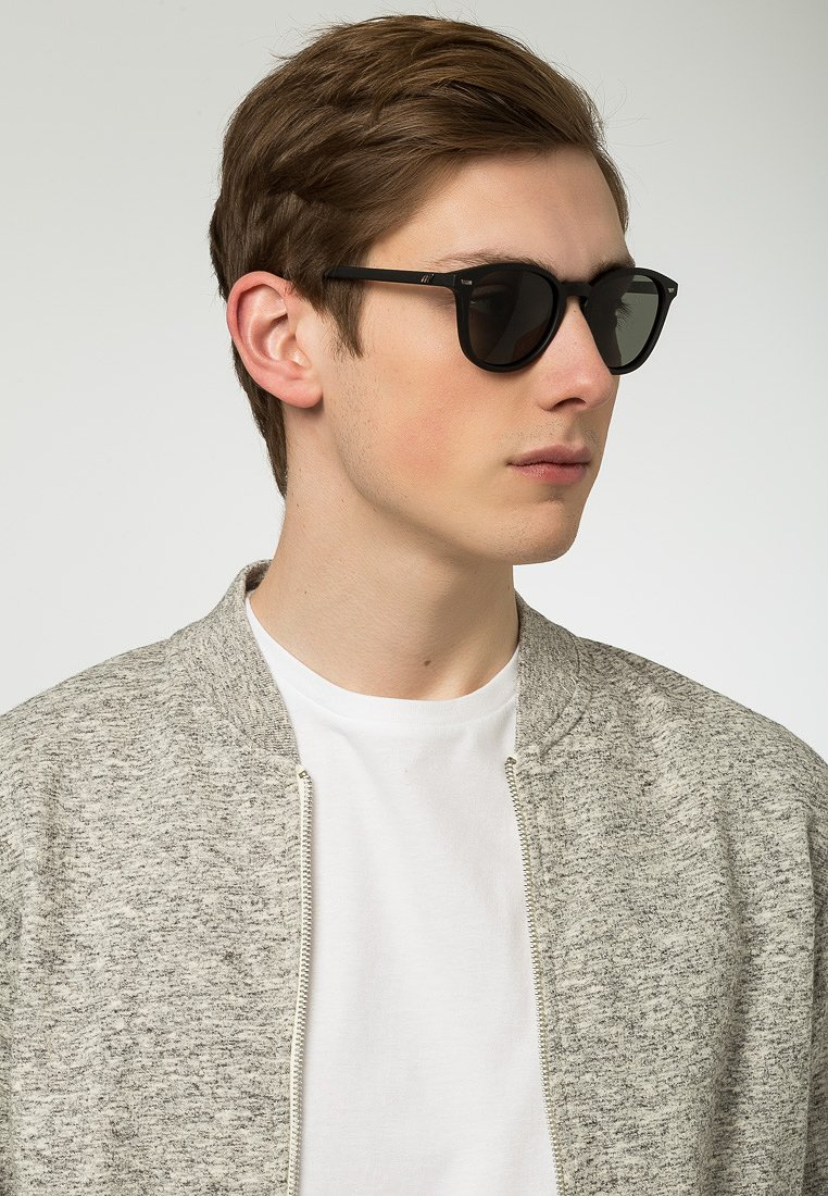 Le Specs - BANDWAGON - Sunglasses - black rubber