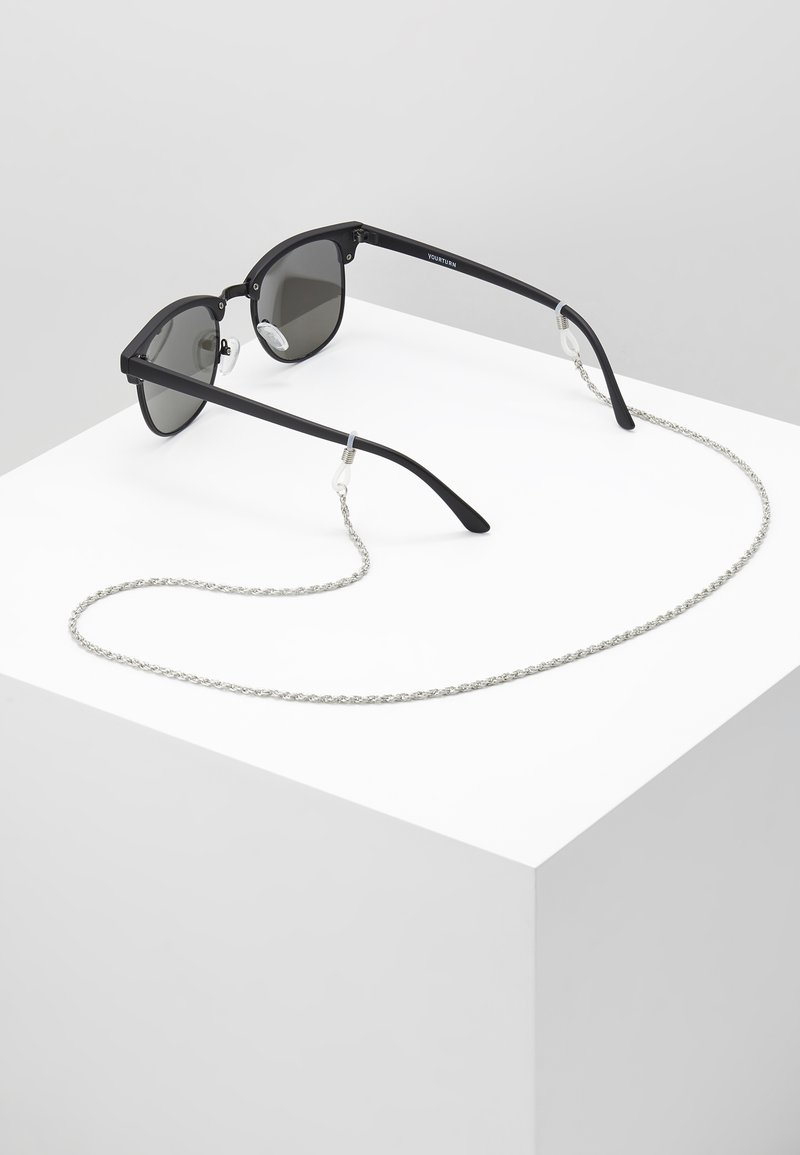 Le Specs - HOLLOW ROPE NECK CHAIN - Halskette - grey