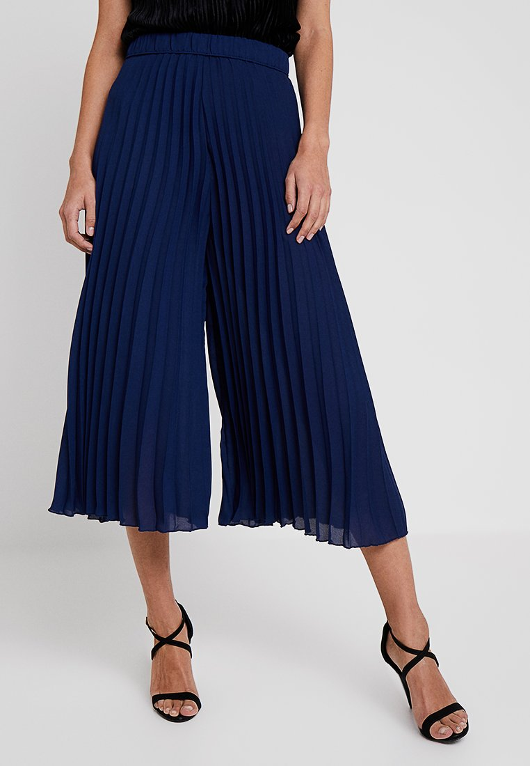 Lace & Beads - KATE CULOTTES - Stoffhose - navy