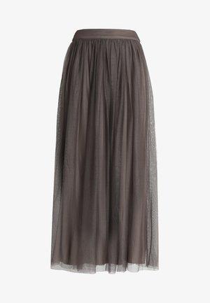 MARIKO SKIRT - Maxi sukně - stone