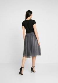 Lace & Beads - VAL SKIRT - A-line skjørt - charcoal - 2