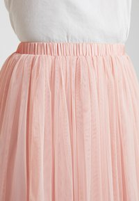 Lace & Beads - VAL SKIRT - A-line skjørt - peach - 4