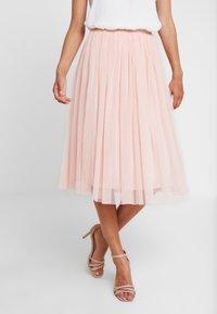 Lace & Beads - VAL SKIRT - A-line skjørt - peach - 0