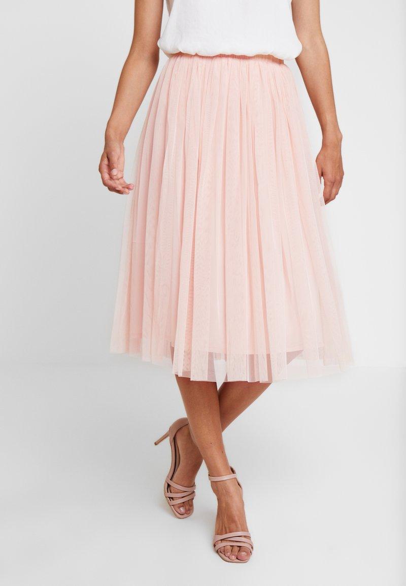 Lace & Beads - VAL SKIRT - A-line skjørt - peach