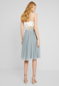 Lace & Beads - VAL SKIRT - A-Linien-Rock - teal - 3
