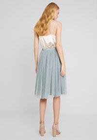 Lace & Beads - VAL SKIRT - Áčková sukně - teal - 3
