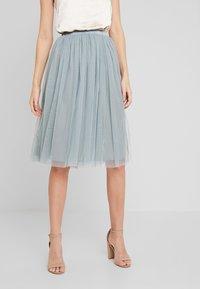 Lace & Beads - VAL SKIRT - Áčková sukně - teal - 0