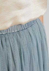 Lace & Beads - VAL SKIRT - Áčková sukně - teal - 7