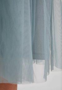 Lace & Beads - VAL SKIRT - Áčková sukně - teal - 5