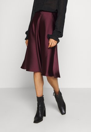 SOPHIE SKIRT - Gonna a campana - burgundy