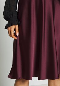 Lace & Beads - SOPHIE SKIRT - A-linjainen hame - burgundy - 4