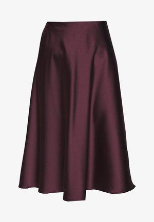 SOPHIE SKIRT - A-line skirt - burgundy