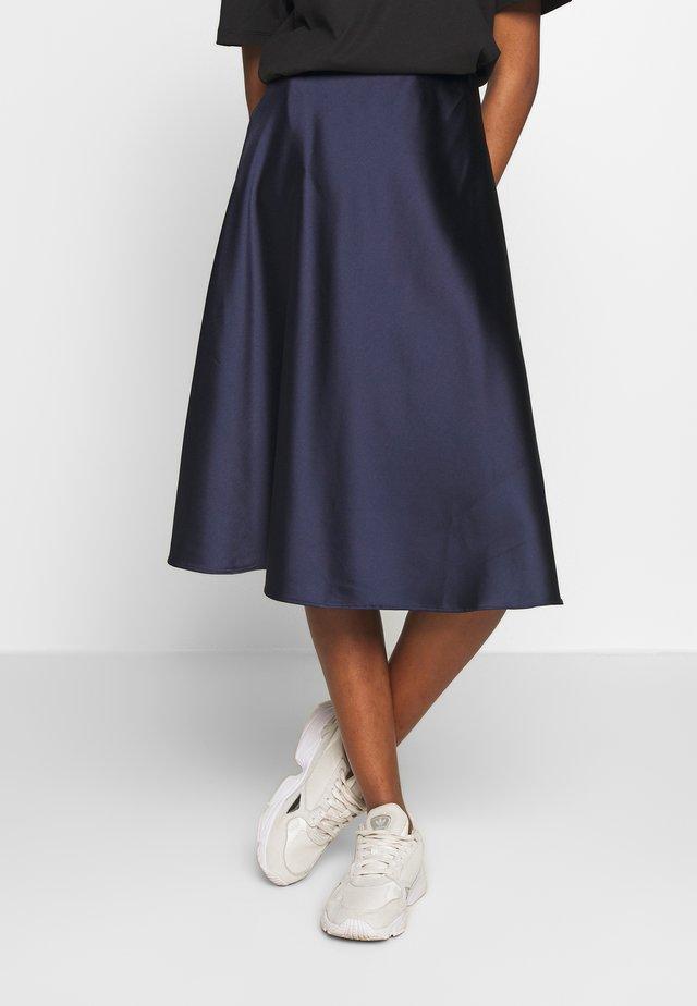 SOPHIE SKIRT - Áčková sukně - navy