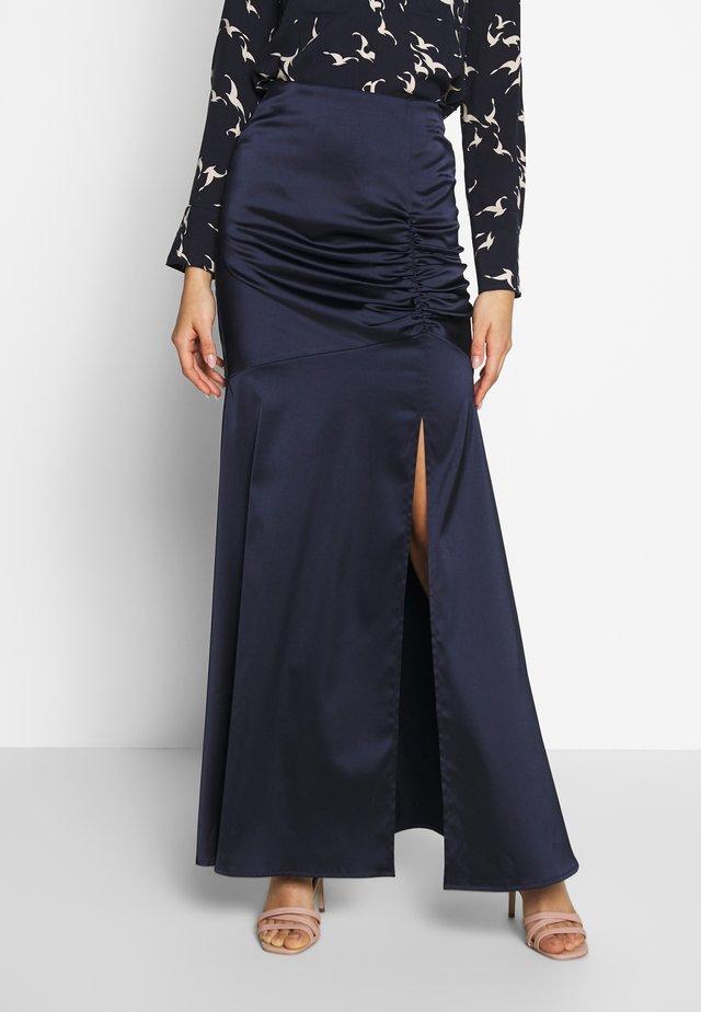 SANA SKIRT - Maxi skirt - navy