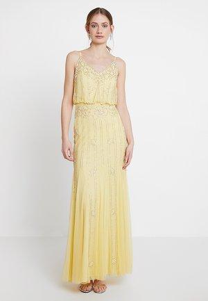 KEEVA MAXI - Společenské šaty - lemon
